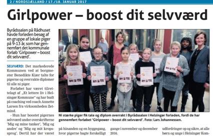 Girlpower – et boost af selvværdet